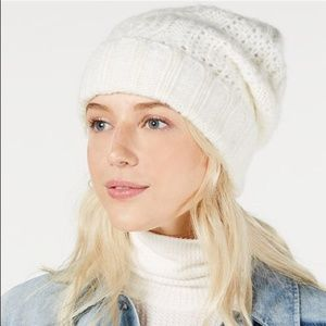 xFree People NWT Harlow Cable-Knit Beanie